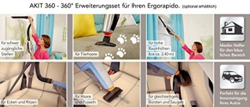 AEG Ergorapido 2in1 Handstaubsauger beutellos 18 V