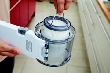 Black & Decker PV1420L Staubbehälter und Filter